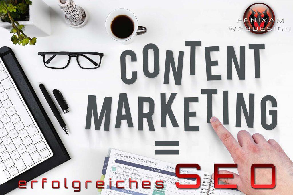 Content Marketing Frankfurt und Offenbach FenixAM Webdesign