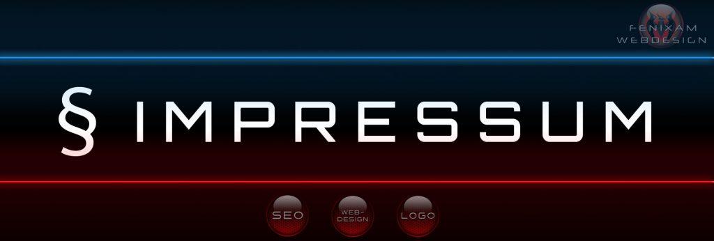Impressum - FenixAM Webdesign und SEO