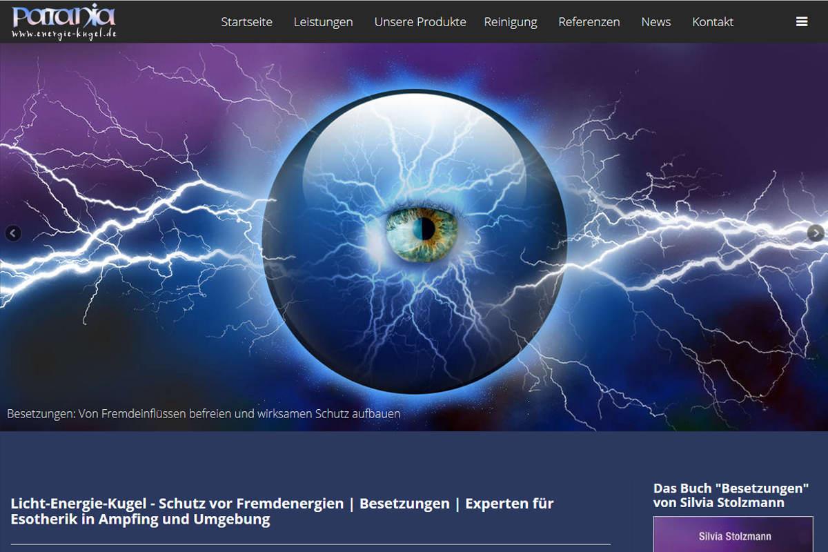 Energie Kugel - Projekt von FenixAM Webdesign
