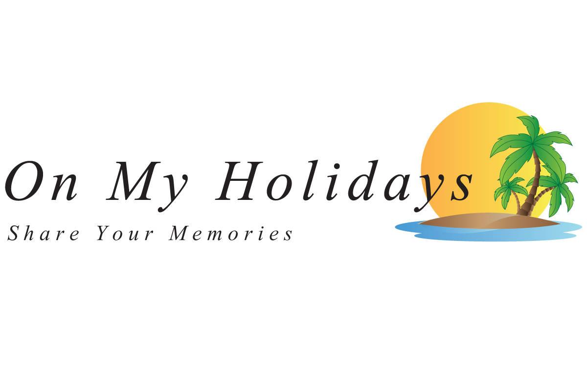 On My Holidays - Logo Design by FenixAM Webdesign