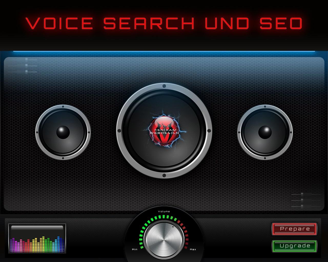 Voice Search Sprachsuchee